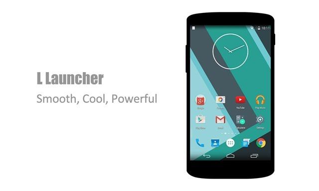 L Launcher – Lollipop Launcher