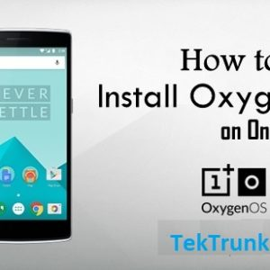 How to Install the OxygenOS ROM