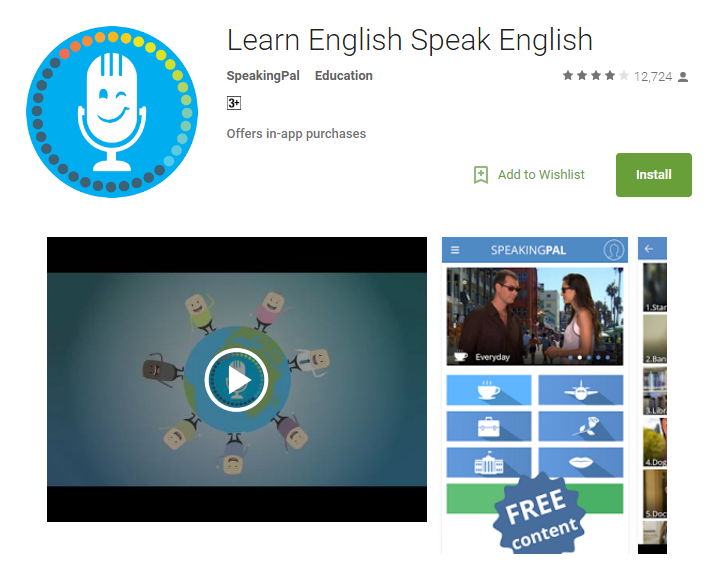 Speakingpal English tutor