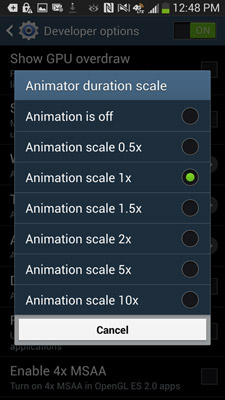 animator duration scale tektrunk