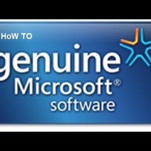 How to make Windows Genuine