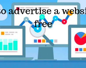 How to advertise a website for free